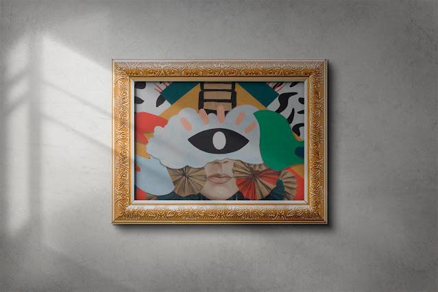 Art Painting Frame Mockup