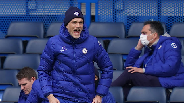 Thomas Tuchel was animated on the sidelines during Chelsea 5-2 loss to West Brom
