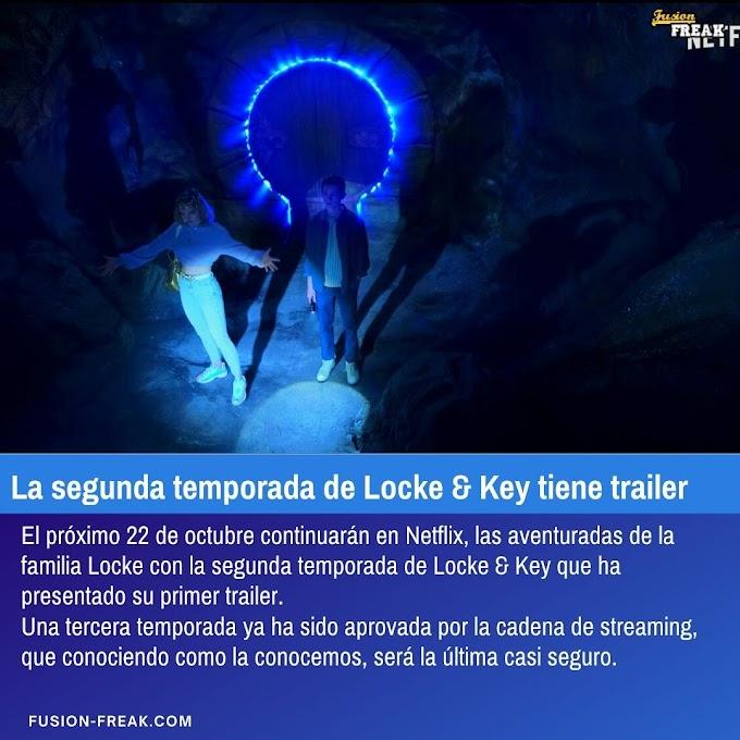 Trailer de la segunda temporada de Locke and Key