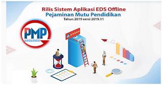 Rilis Aplikasi PMP Offline Versi 2019.11 EDS Dikdasmen