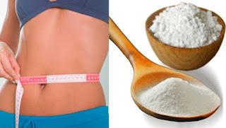 Como eliminar la grasa del vientre con bicarbonato de sodio