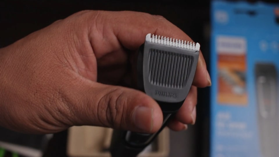 Beard cut with Phillips series 3000 all-in-one trimmer.