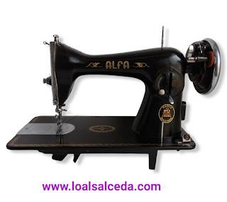 Maquina de coser alfa 40