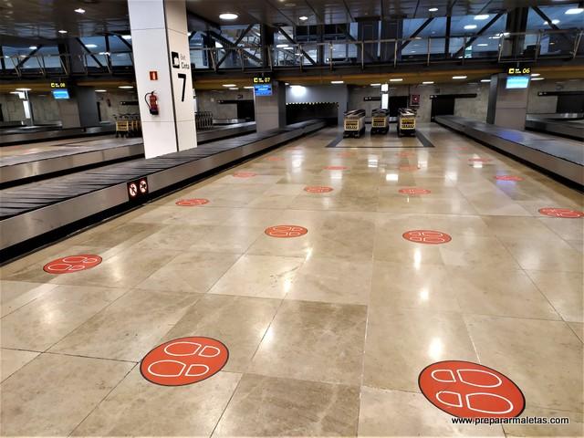 medidas de seguridad covid en aeropuertos