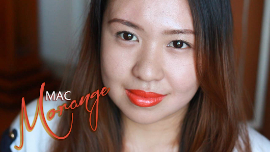 MAC Morange Review, Pictures and Lip Swatch