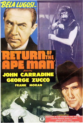 Poster - Return of the Ape Man (1944)