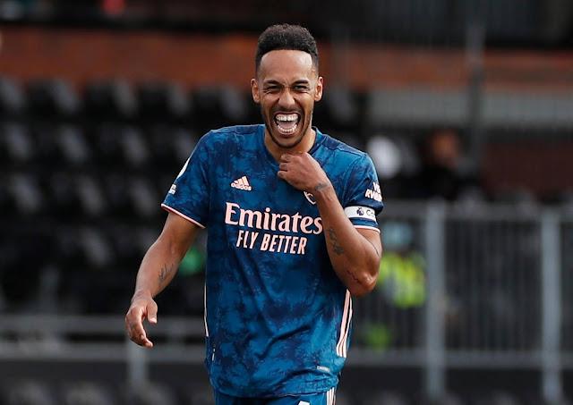 Aubameyang scores as Arsenal beat Fulham 3-0 in the Premier League 2020/21 season opener