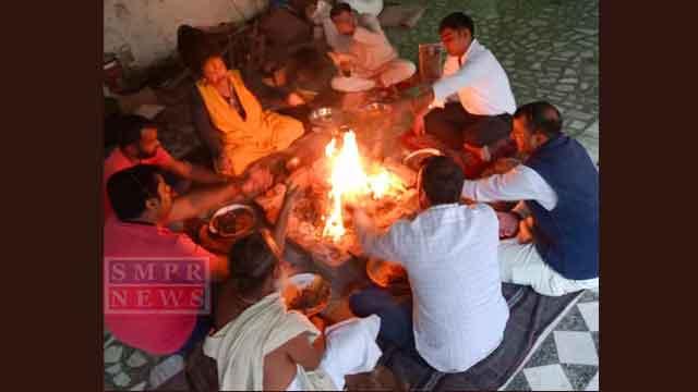 सीताराम बाबा बावड़ी आश्रम पर मनाया गया देव दिवाली पर्व