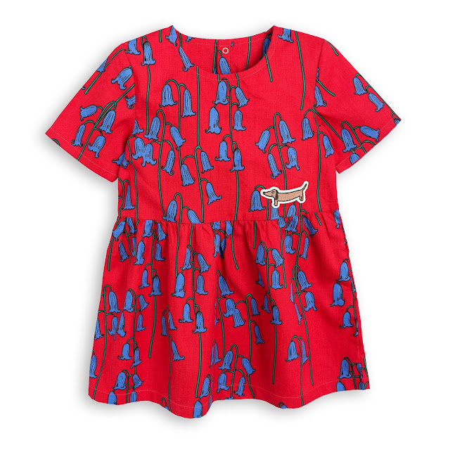Mini Rodini Bluebel Wovenl Dress