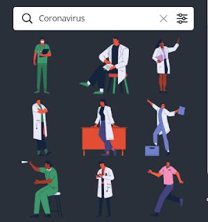 Element Canva Coronavirus