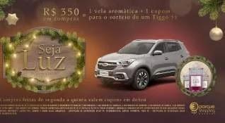 Promoção Barueri Shopping Natal 2019 Concorra Tiggo e Ganhe Vela Aromática