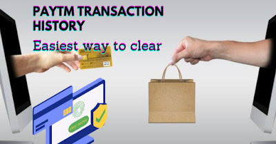 How to delete/remove your paytm transaction history permanently