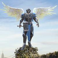 Crime Angel Superhero – Vegas Air Strike Mod Apk