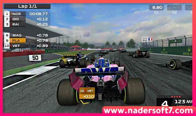 تحميل لعبة سباق السيارات فورميولا Formula 1 للكمبيوتر كاملة