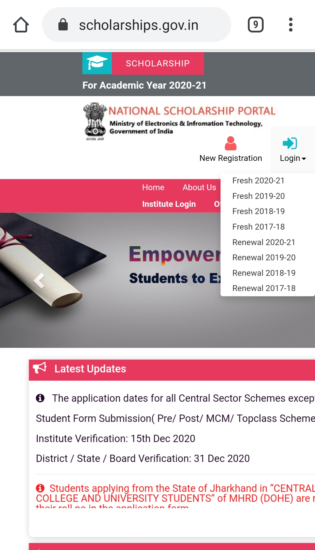 Extension of deadline to November 30 for NMMS renewals.