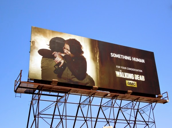 Walking Dead Something Human Glenn Maggie Emmy 2014 billboard