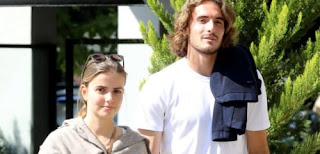 Stefanos Tsitspa And His Girlfriend Theodora Petalas