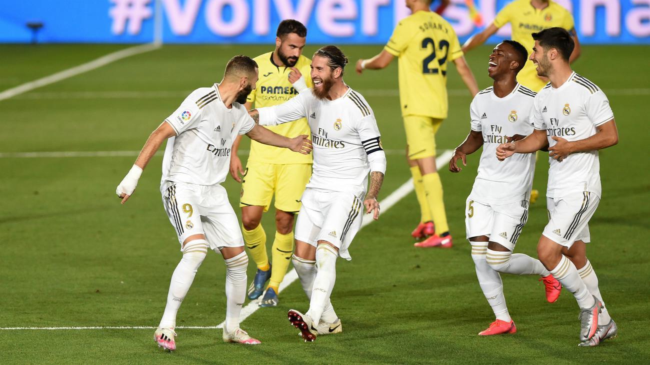 موعد والقنوات الناقلة لمباراة ريال مدريد وفياريال اليوم في الجولة الأخيرة من الدوري الإسباني