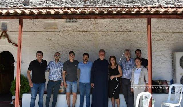 Παραμυθιά: Yπεγράφη η σύμβαση για την μελέτη αποκατάστασης του Ι.Ν Αγίου Νικολάου