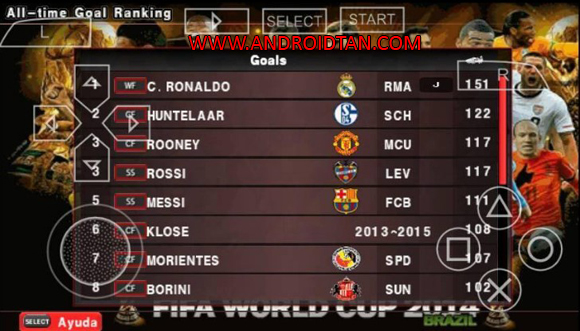 Game PES Patch Army 2017 PSP PPSSPP TSC Fix Save Data