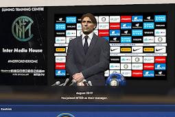 Inter Milan New Press Room 2020 - PES 2017