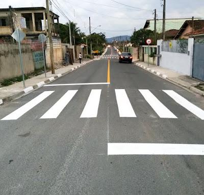 Prefeitura conclui obras de pavimentação asfáltica em Pariquera-Açu