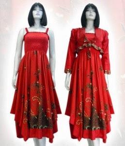 Model Baju Batik Berbagai Corak Wanita Pria Couple Muslim Blog