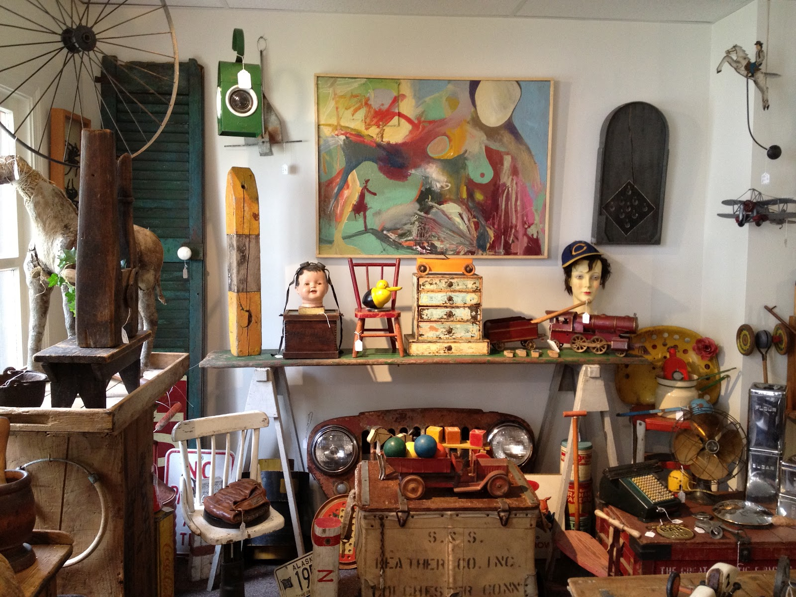 Visiting Chester Americana Antiques And Gallery Ct