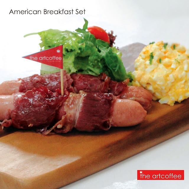American Breakfast Set RM 12.90