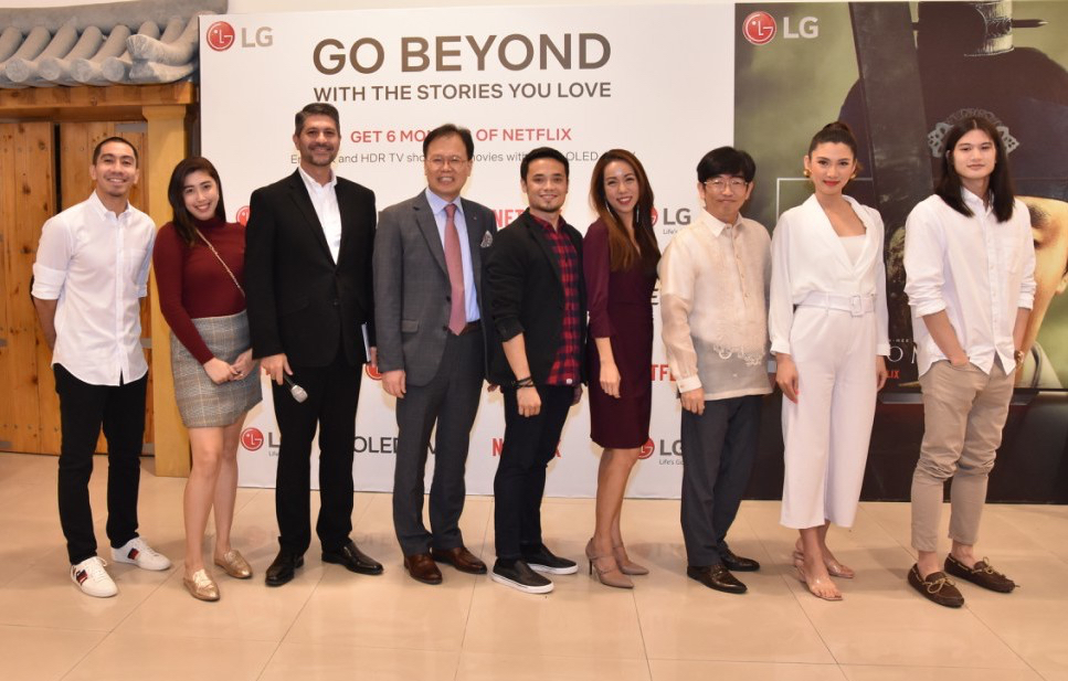 New Year, New Show: LG Electronics Philippines celebrates
