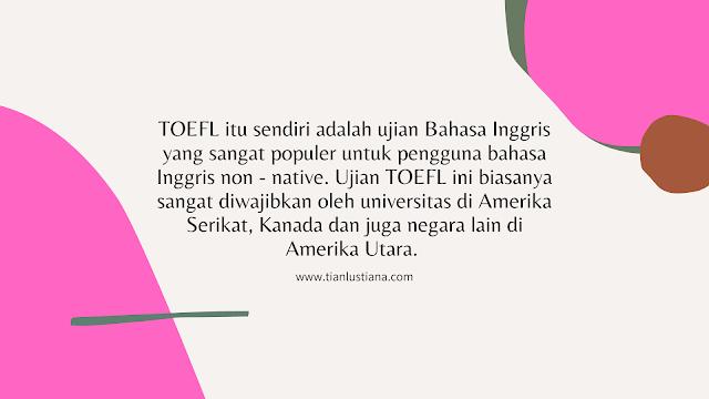 test TOEFL iBT
