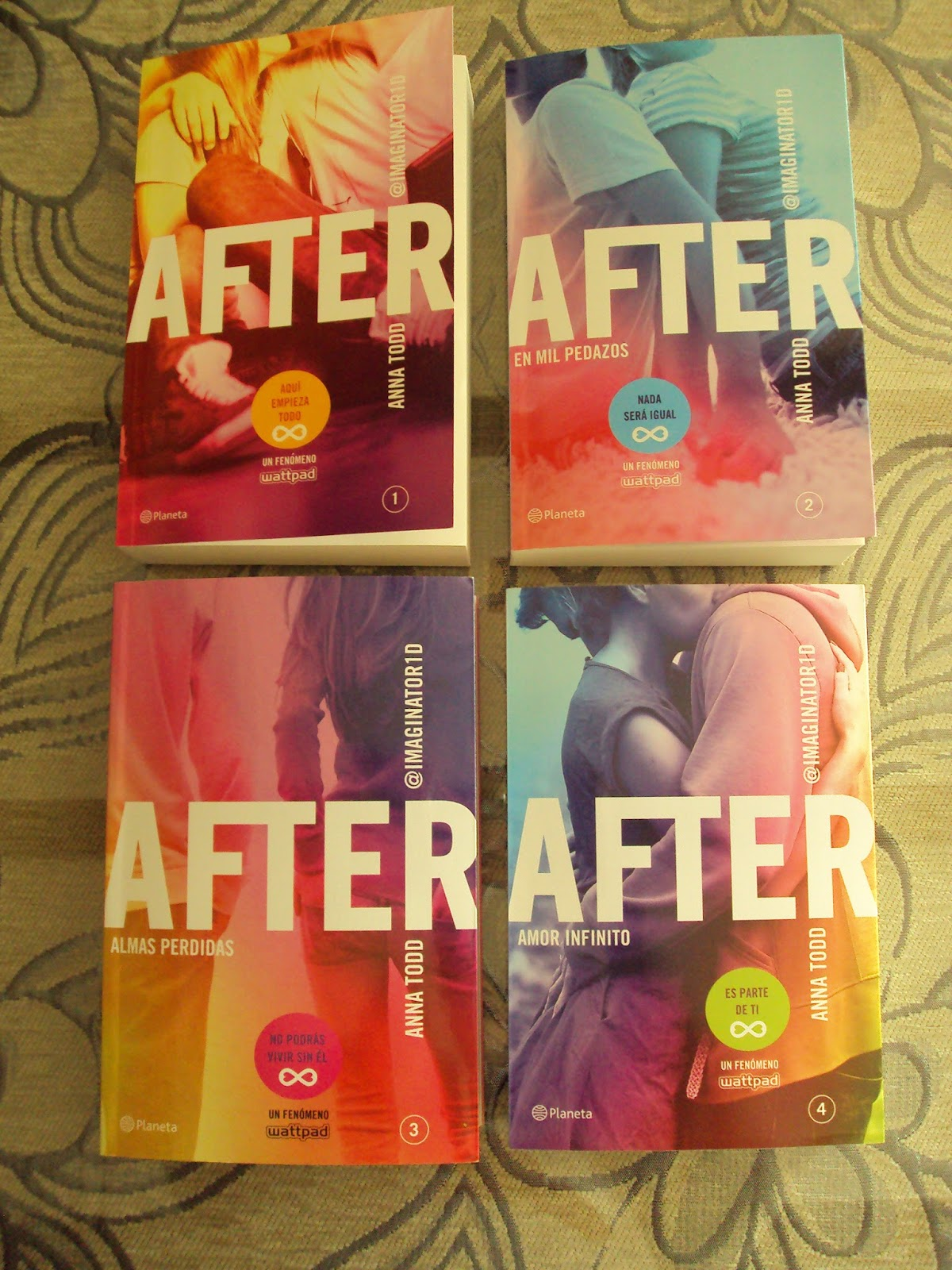 Libros De After After By Anna Todd Ecosia