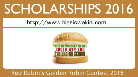 Red Robin's Golden Robin Contest 2016