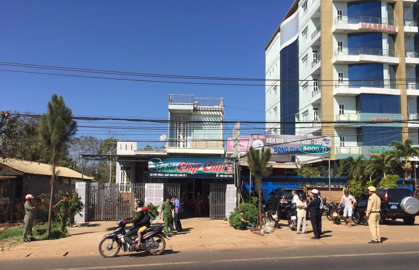 Gia Lai: Một thanh niên bị bắn gục trên phố đêm mùng 6 Tết