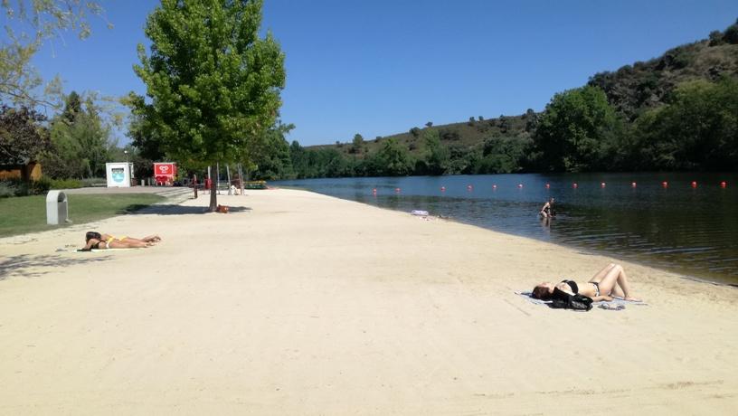 Areal Praia fluvial Mirandela
