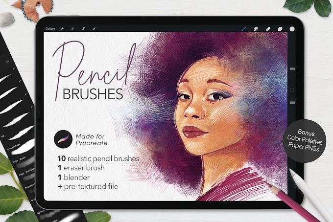 Ultimate Pencil Brushes • Procreate[Photoshop][5496534]