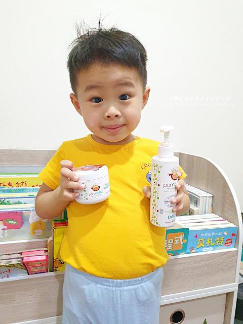 Pombaby寶寶乳液有機認證
