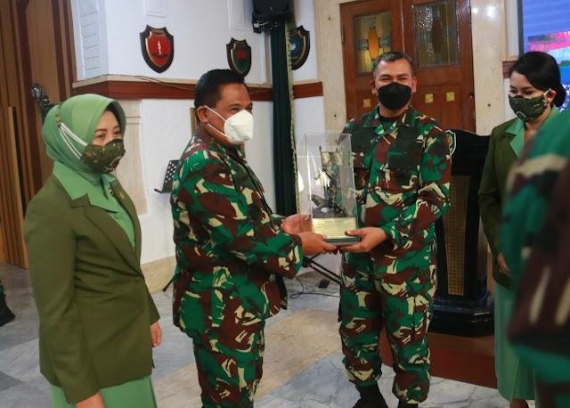 Brigjen TNI Darmono Susastro, Resmi Jabat Kasdam III/Siliwangi