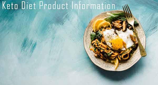 Custom Keto Diet Product Information