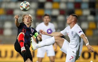 فيديو :كرواتيا وانكلترا يتعادلا سلبيا