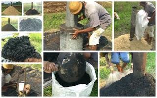 Cara Pembuatan Arang Sekam Padi Yang Benar