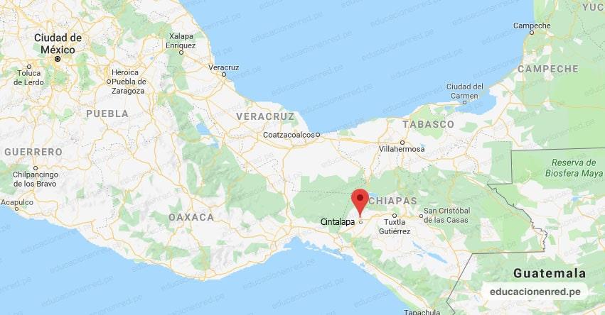 Temblor en México de Magnitud 4.2 (Hoy Miércoles 22 Septiembre 2021) Sismo - Epicentro - Cintalapa - Chiapas - CHIS. - SSN - www.ssn.unam.mx