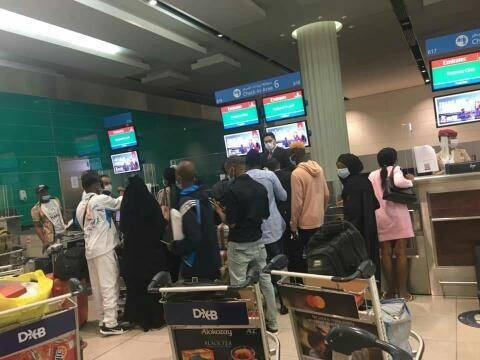 Nigerian Government Officials Bar Citizens from Boarding In Dubai, Demand COVID-19 Test Fee