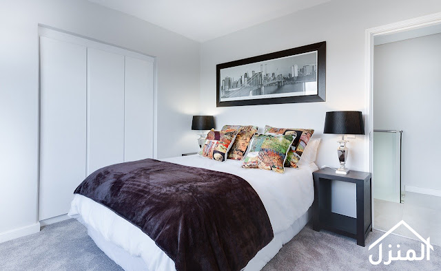 صور ديكور غرف نوم باللون الابيض