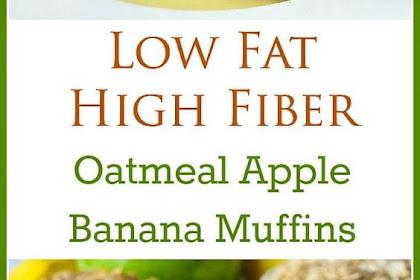 Oatmeal #Apple #Banana #Low #Fat #Muffins
