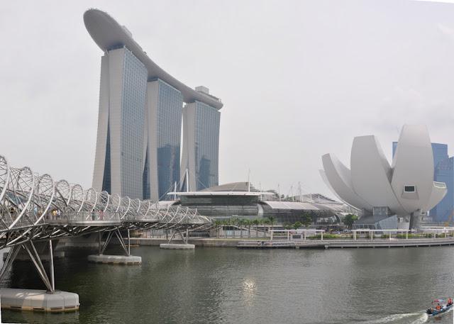 Marina Bay Sands em Cingapura