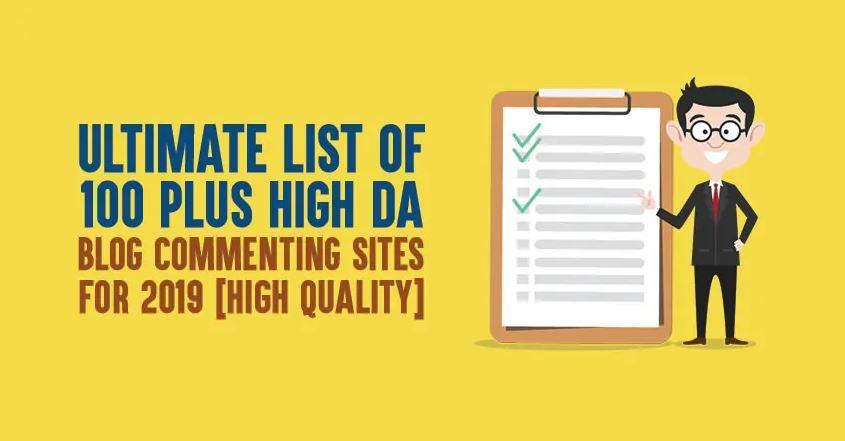 List of 190+ High DA Dofollow Blog Commenting Sites [2019
