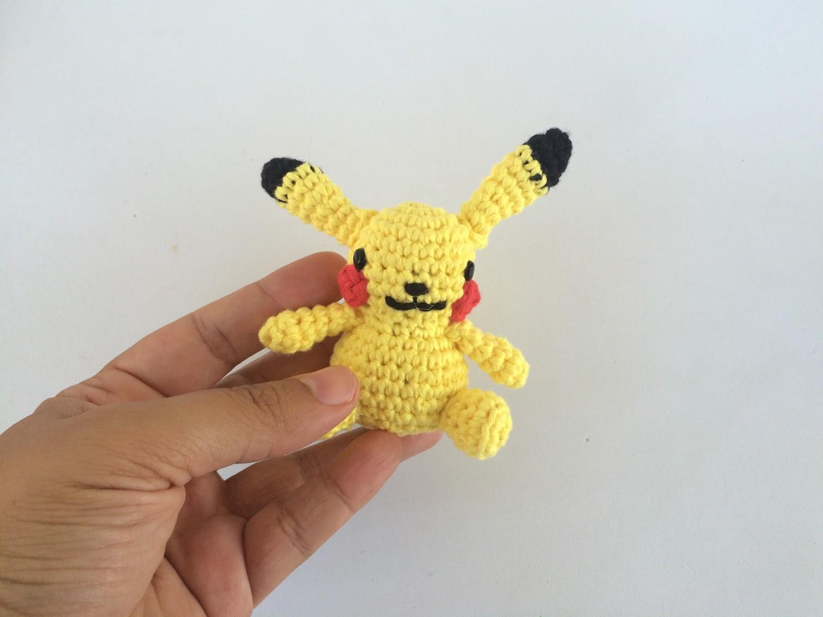 LORAINE AMIGURUMIS - Paso a paso para tejer al crochet a Pikachu | 1200x1600