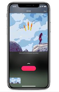 تطبيق Clips لتصوير لقطات فريدة