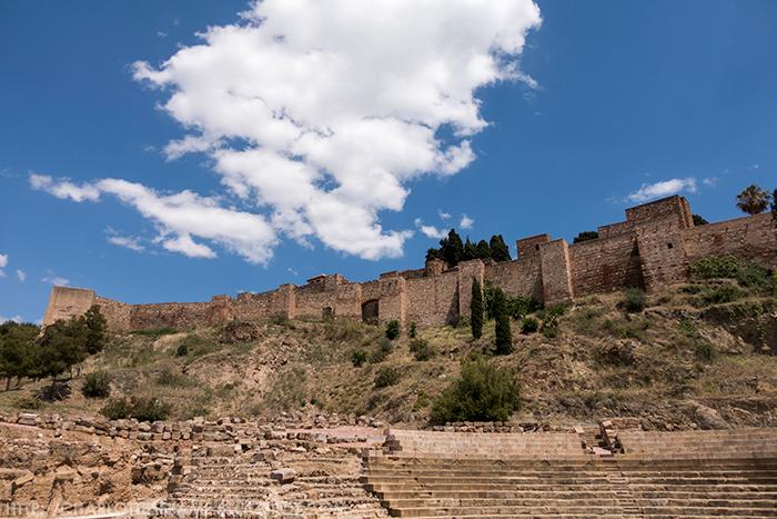 Alcazaba, Alcazaba Malaga, Roman Theatre